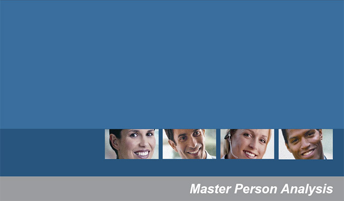 Master Person Analysis